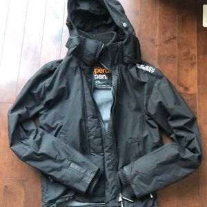 Super dry Japan hooded wind cheater